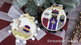 Kimberbell CHRISTMAS NATIVITY ORNAMENTS - Happy Hoop Decor, Volume 2: