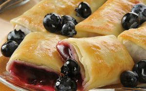 Blueberry Cheese Blintzes 4-Pak