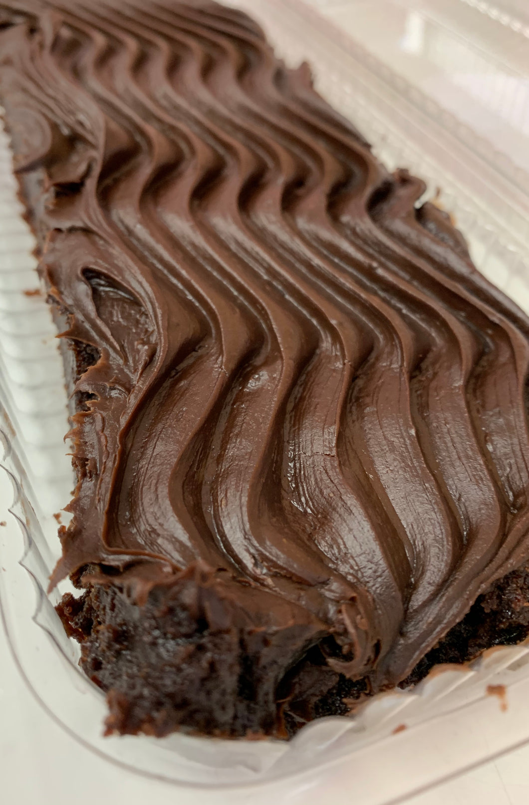 Gluten Free Brownie Strip