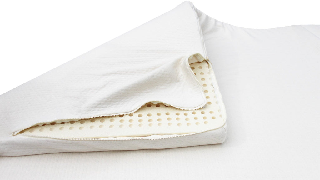SleepLikeABear Pure 100% Organic Knit Cotton Zipper Cover