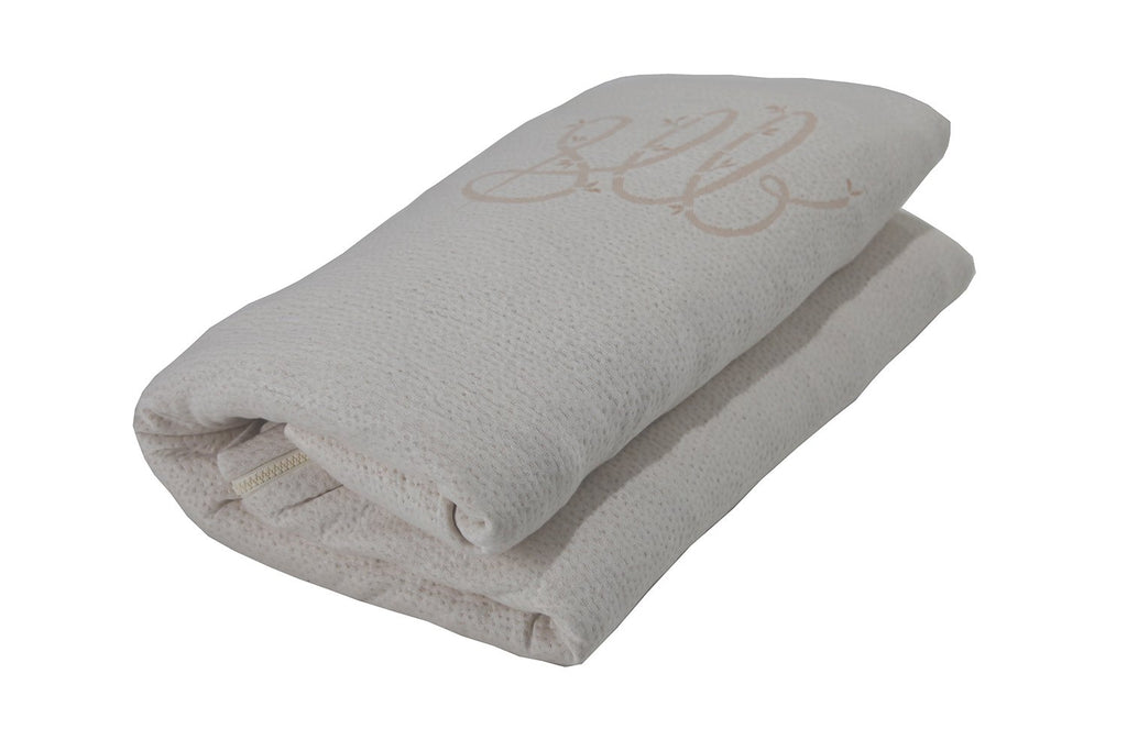SleepLikeABear All-Natural Knit Bamboo and Cotton Zipper Cover