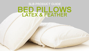 Get to know our latex & feather bed pillows!