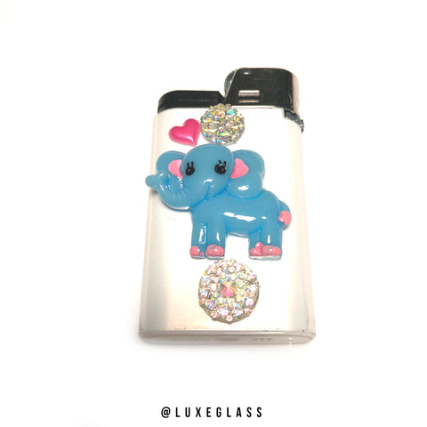 Blue Elephant Lighter