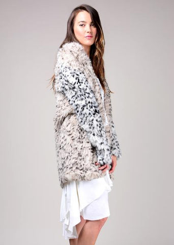 Ulla Johnson Christa Coat Leo Lepard