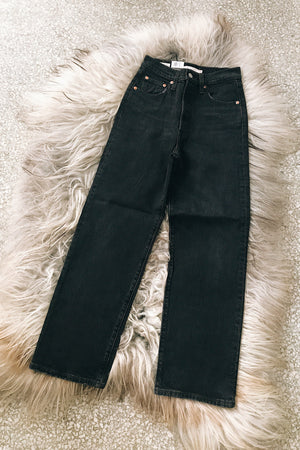 Levi's Ribcage Straight Ankle Jean in Feelin' Cagey