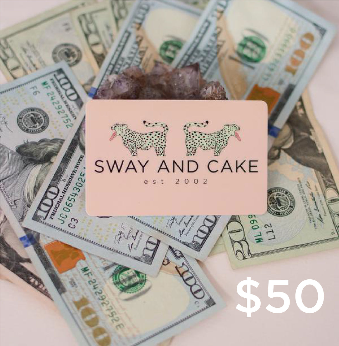 Sway and Cake Gift Card