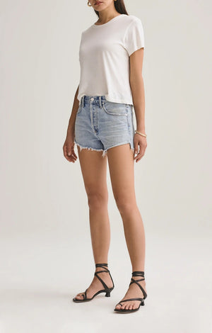 Parker Vintage Cut Off Short In Riptide