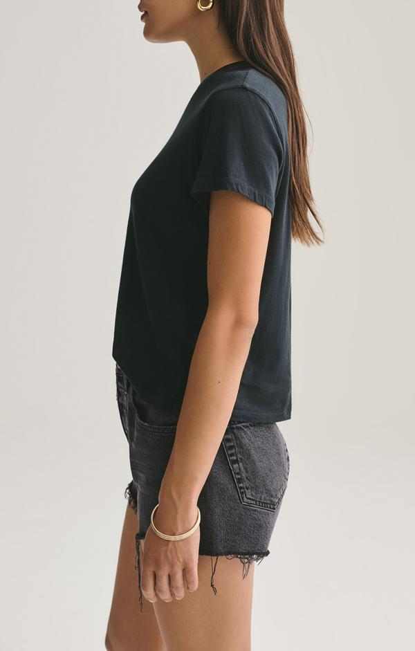 Linda Boxy Tee in Nocturne