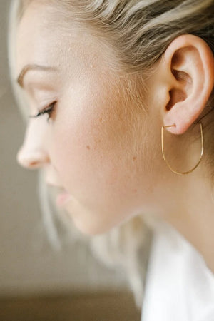 Saki Earrings in Gold