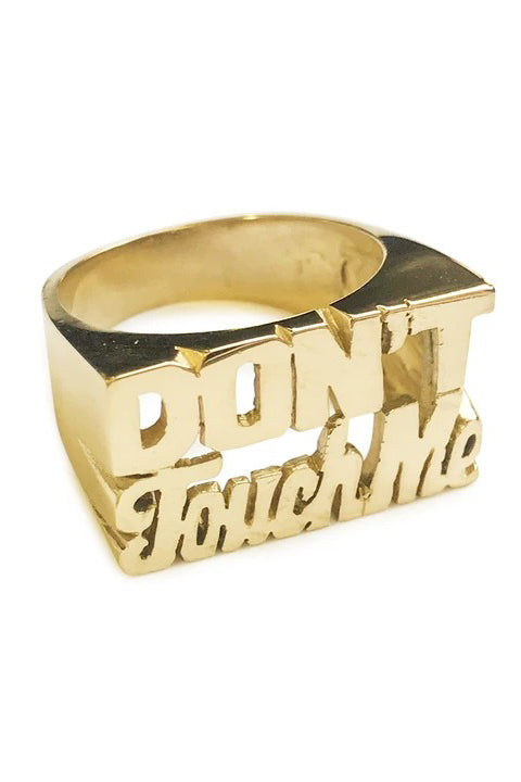 'Don't Touch Me' Zodiac Ring