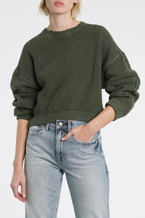 Frances Sweater in Blackened Olive
