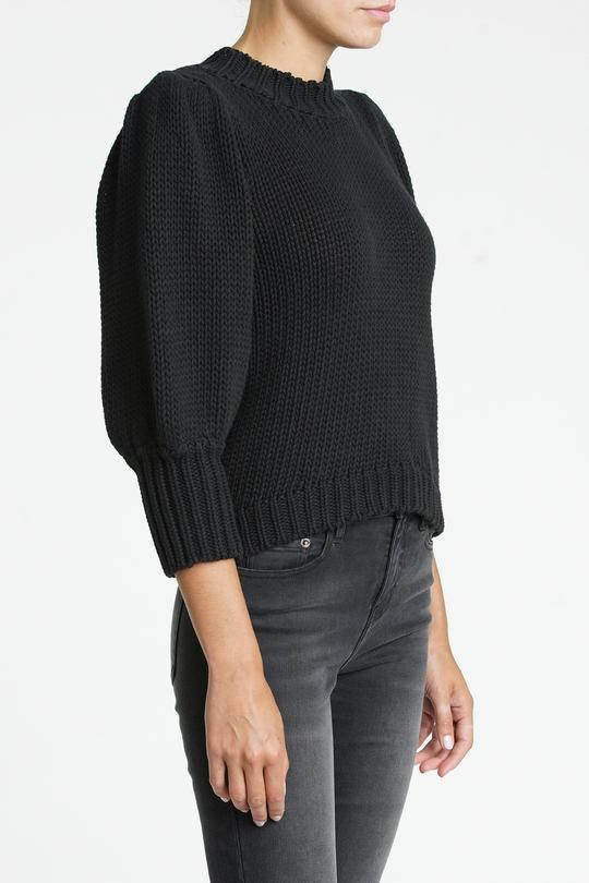 Gabbie Sweater in Black
