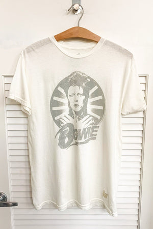 'David Bowie' Tee in White