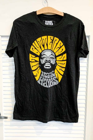 Retrobrand Isaac Hayes Hot Buttered Soul Band Tee in Black