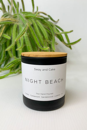 Night Beach Sway and Cake Signature Candle