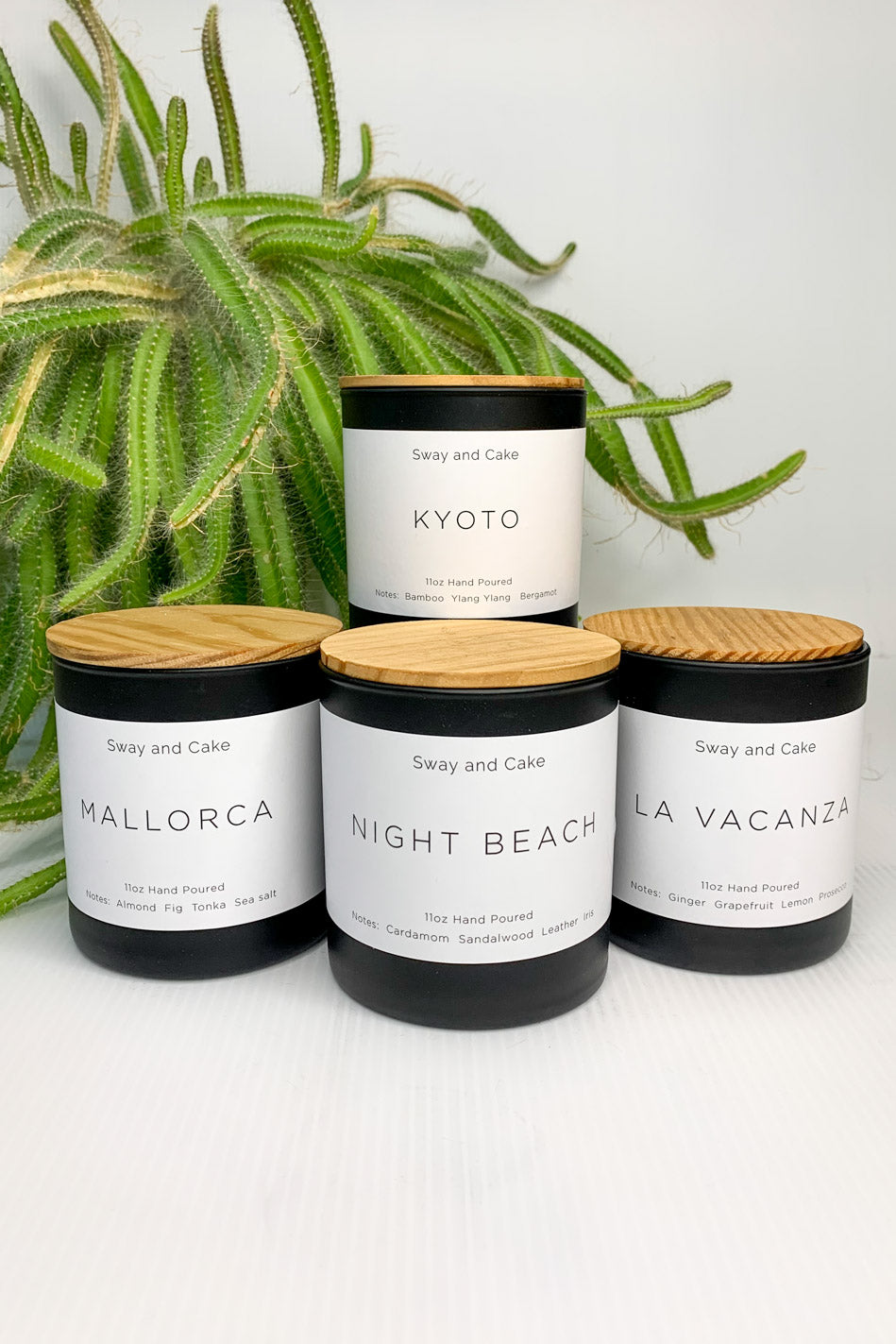 'Night Beach' House Label Candle