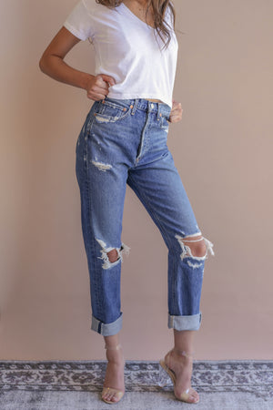 Agolde 90'S Mid Rise Loose Fit Jean in Psyche