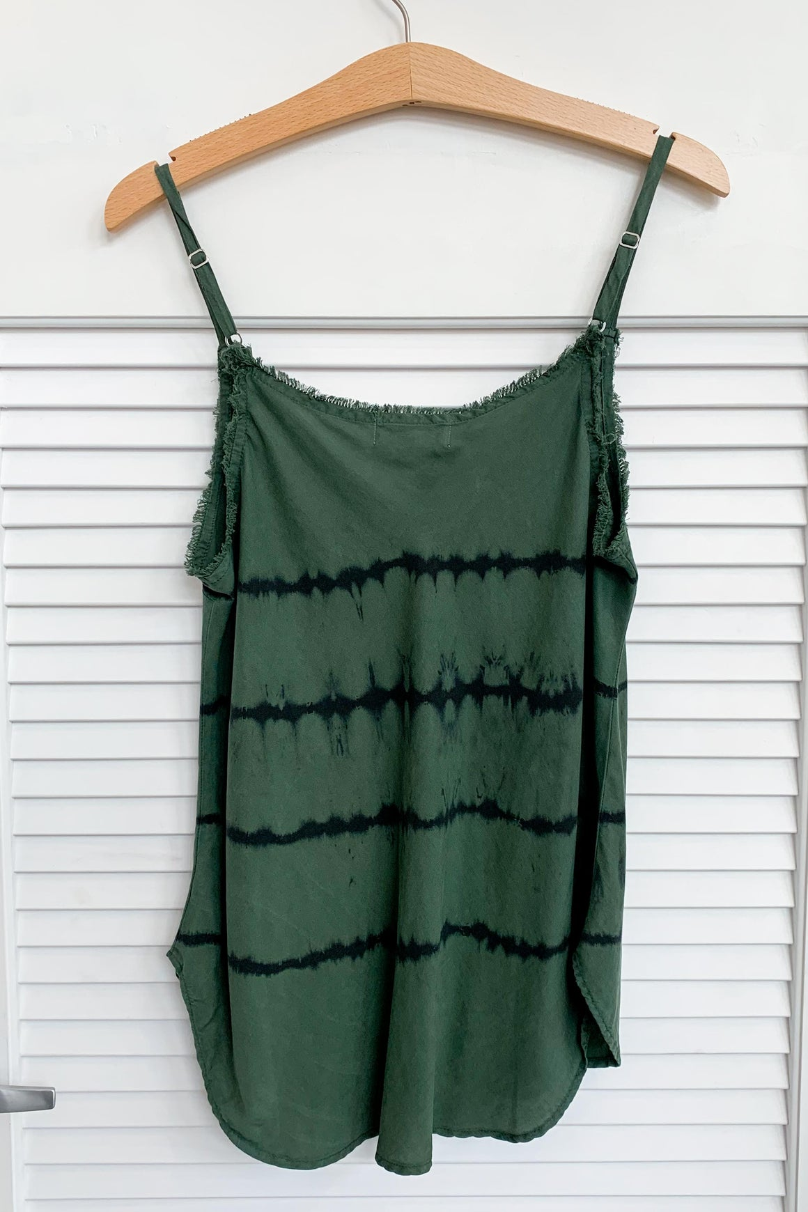 Frayed Cami in Cactus