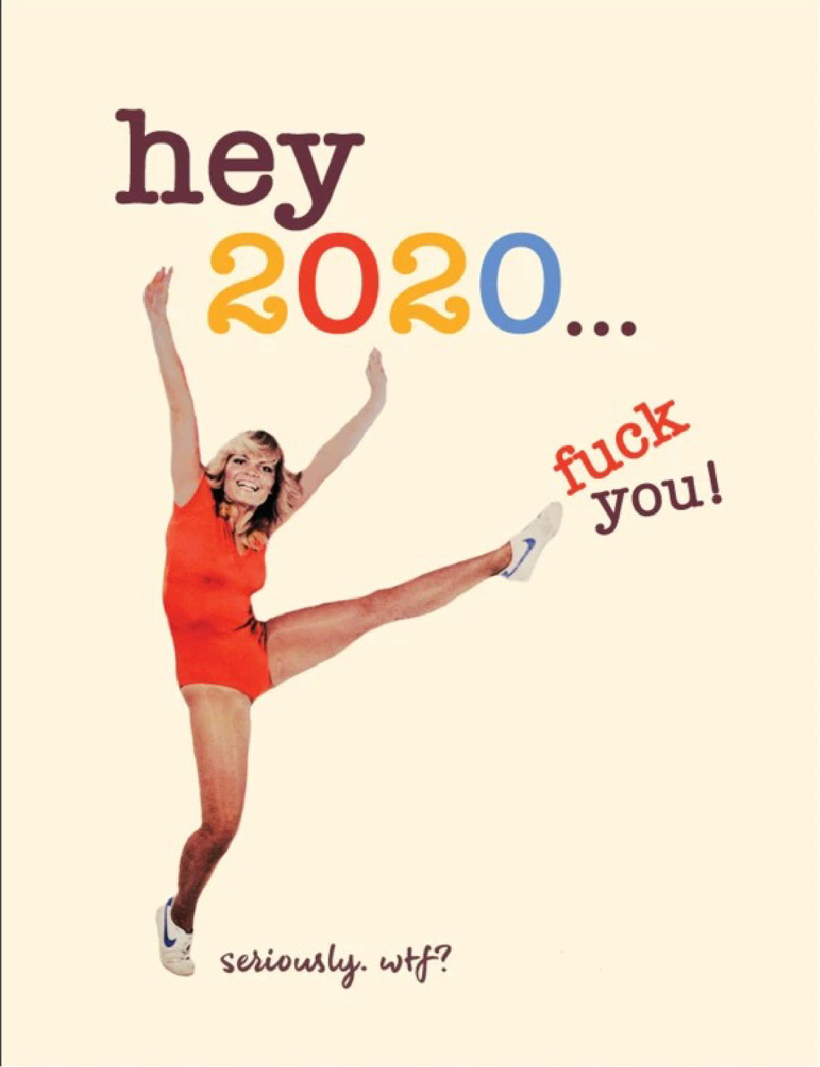 'WTF 2020' Greeting Card