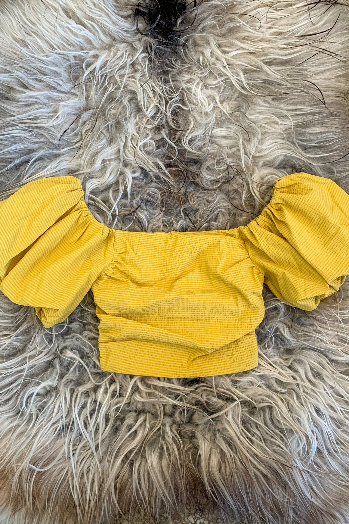 Rhodes Top in Yellow
