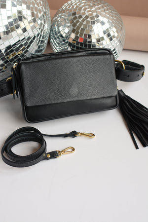 TAH Everyday Belt Bag In Black