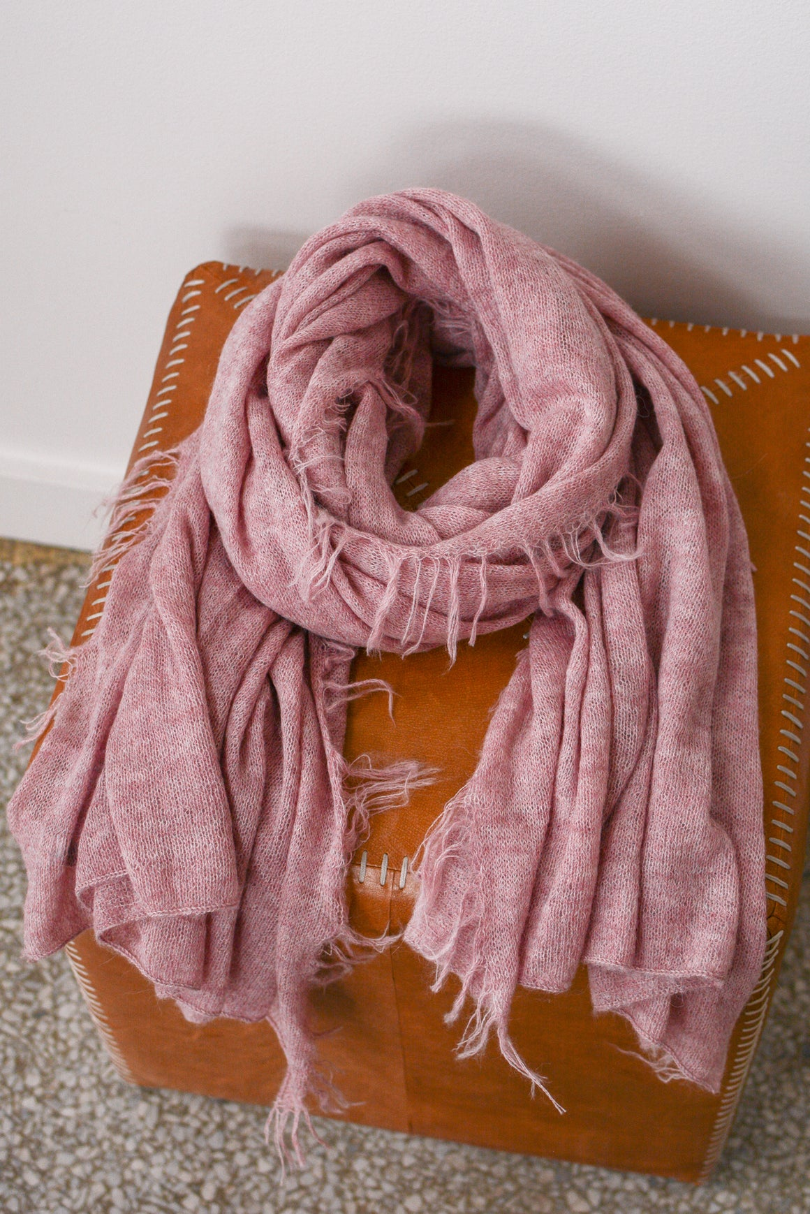 Sierra Brushed Scarf in Pink