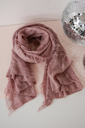 Latierra Sierra Brushed Scarf in Pink