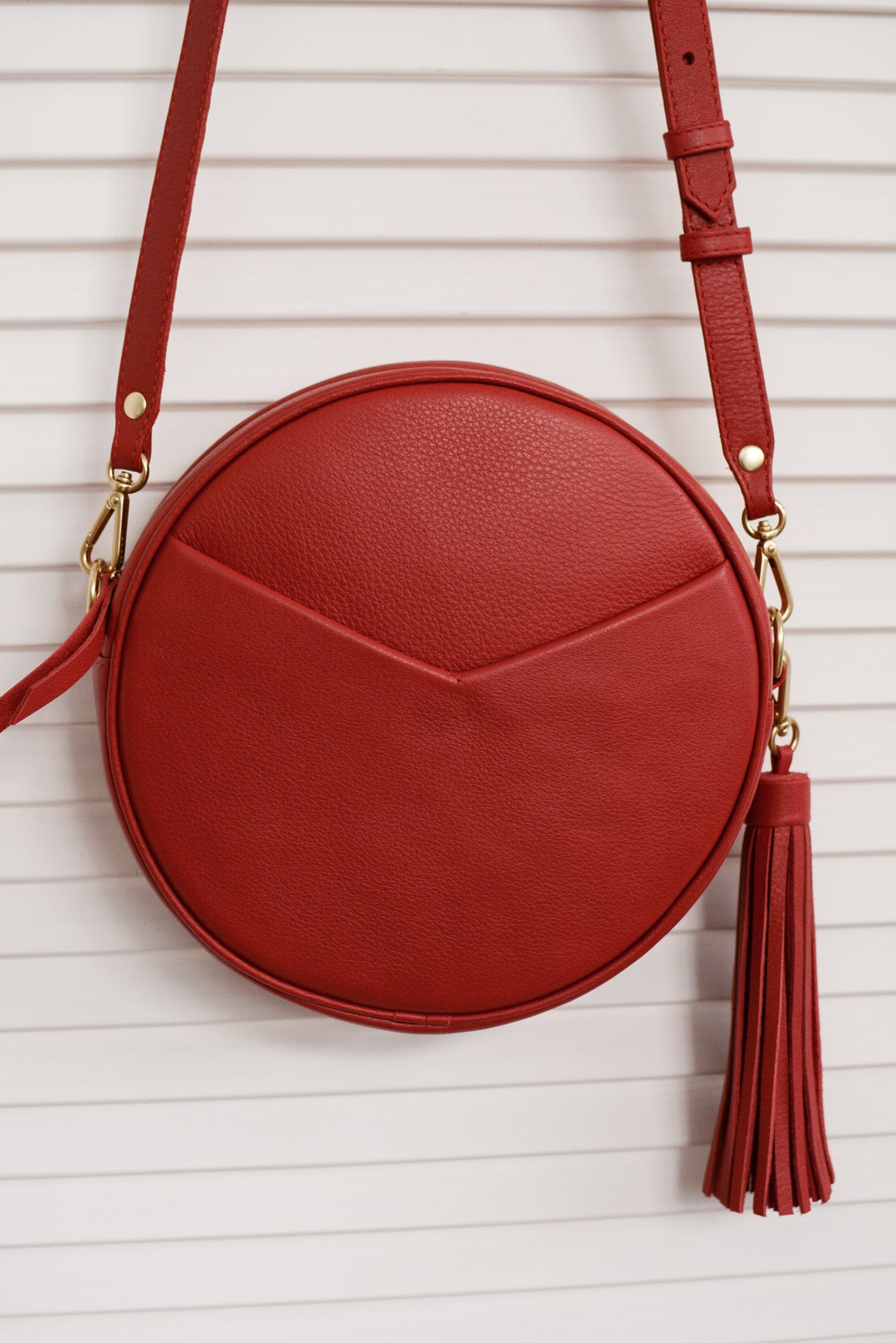 Circle Bag in Red