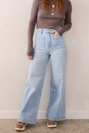 Rolla's Jeans Sailor Jean in Tash Blue