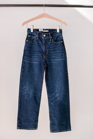 Levi's Wellthread Ribcage Straight Jean in Ground Swell