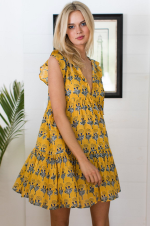 Emerson Fry Angel Dress in Marigolds Yellow