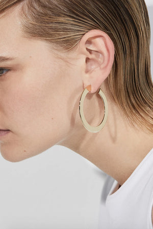 Jennybird Quinn Hoop Earrings in Gold