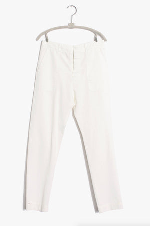 Xirena Tucker Twill Pant in White