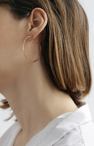 Jennybird Small Icon Hoops in Gold