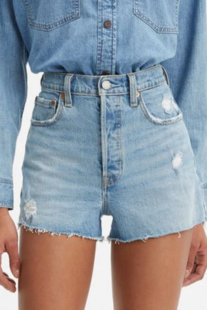 Levi's Ribcage Denim Short in Tango Beach