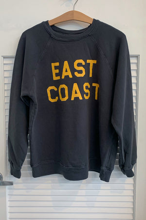 Retrobrand Black Label East Coast Sweatshirt in Black