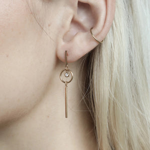 Thatch Mini Cavell Earrings