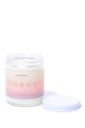 Ombré Sway and Cake Signature Scent Candle