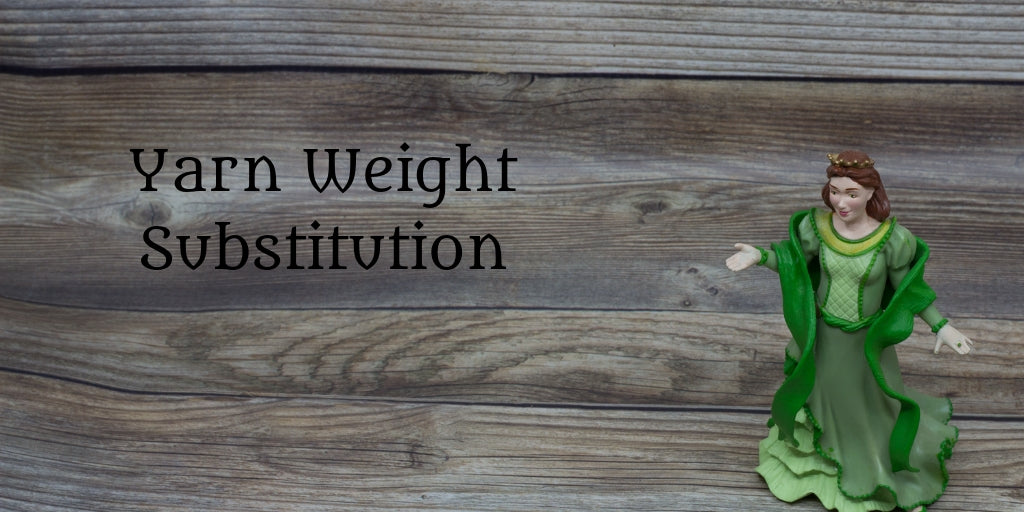 Yarn Weight Substitution