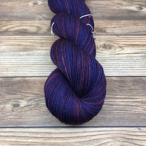 Merlin in A generous offer - Round Table Yarns hand-dyed yarn tonal semi-solid self-striping