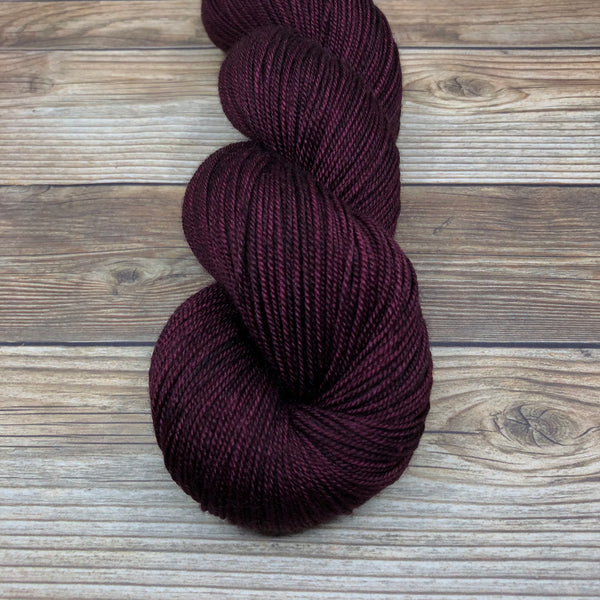 Grail in Agravain - Round Table Yarns hand-dyed yarn tonal semi-solid self-striping