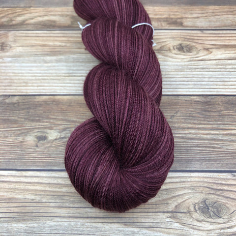 Merlin in Agravain - Round Table Yarns hand-dyed yarn tonal semi-solid self-striping