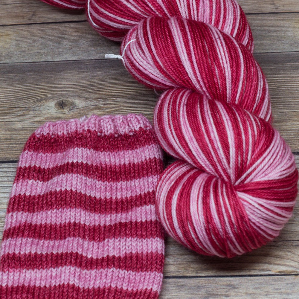 Merlin in Courtly Love (self-striping) - Round Table Yarns hand-dyed yarn tonal semi-solid self-striping