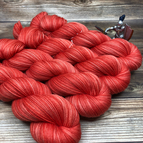 Camelot in Gaheris - Round Table Yarns hand-dyed yarn tonal semi-solid self-striping
