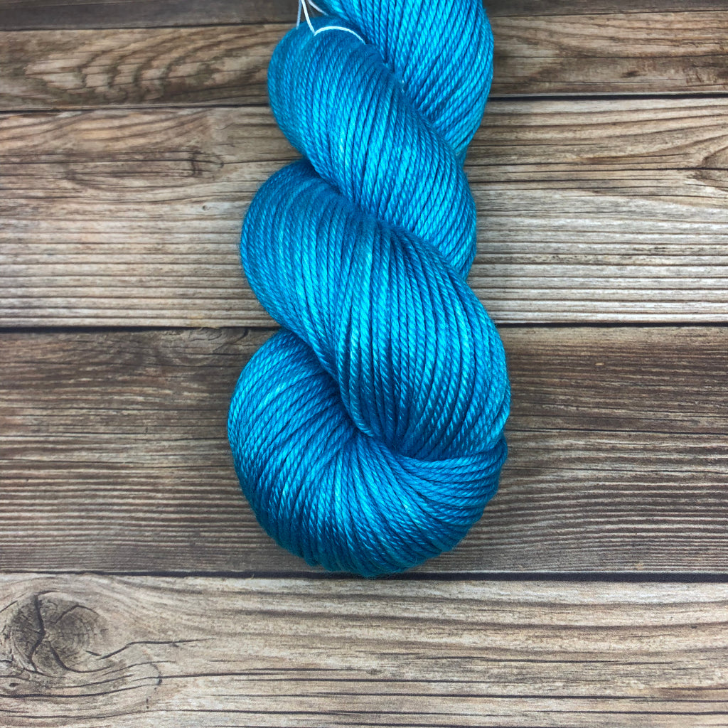 Cornwall in Ganieda - Round Table Yarns hand-dyed yarn tonal semi-solid self-striping