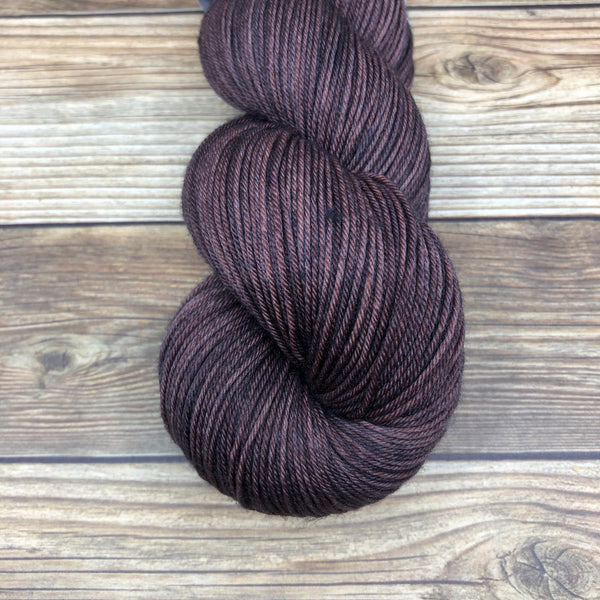 Merlin in Gorlois - Round Table Yarns hand-dyed yarn tonal semi-solid self-striping