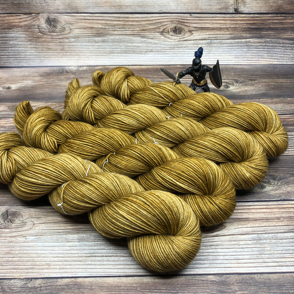 Tristan in Gwydion - Round Table Yarns hand-dyed yarn tonal semi-solid self-striping
