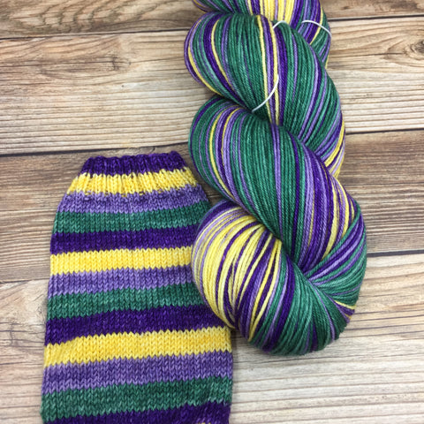 Merlin in Joseph of Arimathea (self-striping) - Round Table Yarns hand-dyed yarn tonal semi-solid self-striping