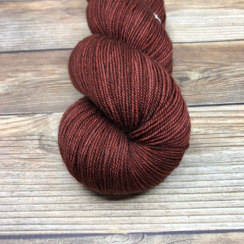 Legend in Lanval - Round Table Yarns hand-dyed yarn tonal semi-solid self-striping
