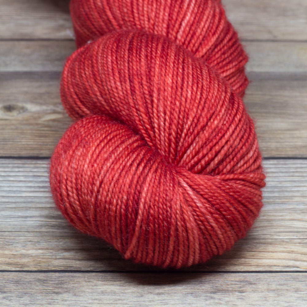 Tristan in Love Potion - Round Table Yarns hand-dyed yarn tonal semi-solid self-striping
